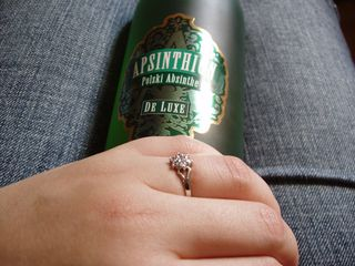 Absinthe and new ring