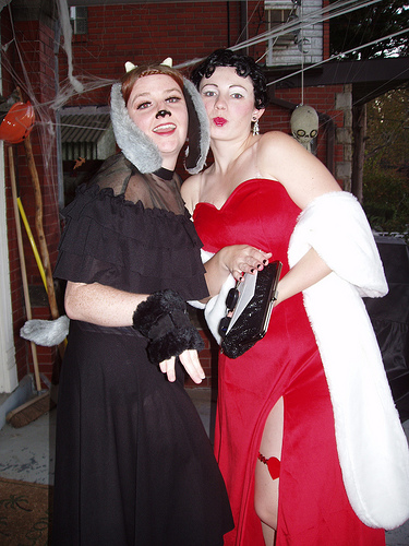 betty boop and goth goat
