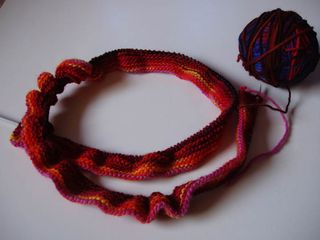 Wollmeise scarf